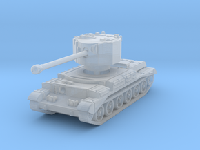 Challenger tank scale 1/87 in Smooth Fine Detail Plastic