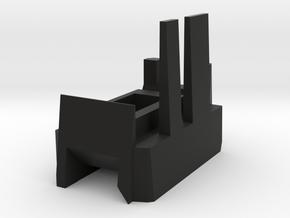 Megatron Right Ankle v2 in Black Natural Versatile Plastic