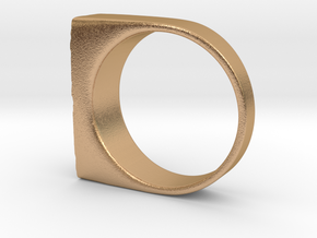 Moonwalk Ring  in Natural Bronze: 7 / 54