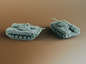 BMD-4 Infantry fighting vehicle (IFV) Scale: 1:200 in Smooth Fine Detail Plastic