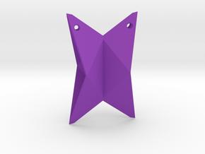Ship-folded in Purple Processed Versatile Plastic