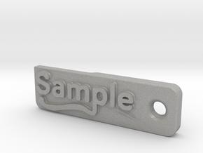 Material Sample - Sample Stand (ALL MATERIALS) in Aluminum