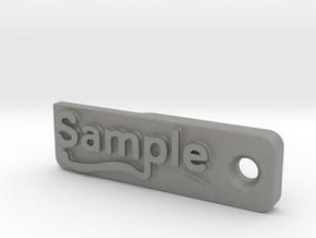 Material Sample - Sample Stand (ALL MATERIALS) in Gray Professional Plastic