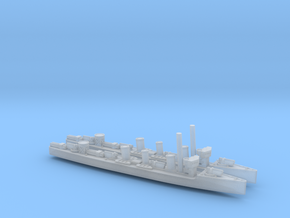 Guadiana 1/2400 x2 (Portugal) in Smooth Fine Detail Plastic
