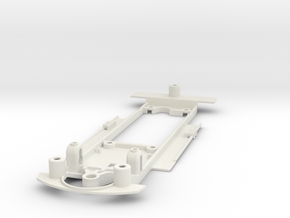 1/32 Scalextric AMC Javelin Chassis for Slot.it IL in White Natural Versatile Plastic