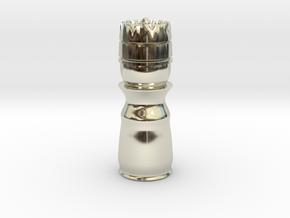 King White - Bullet Series in 14k White Gold