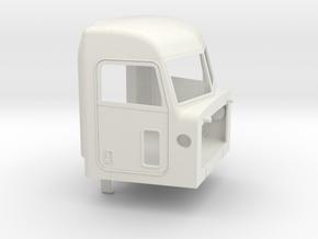 1/14 Peterbilt 379  cab  in White Natural Versatile Plastic