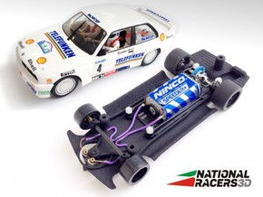3D Chassis - Fly M3 E30 (Inline) in Black Natural Versatile Plastic