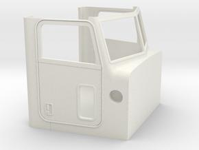 1/24 Peterbilt 379 Cabin  in White Natural Versatile Plastic