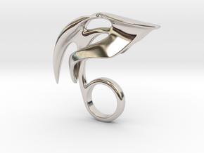 Romanto - Bjou Designs in Rhodium Plated Brass