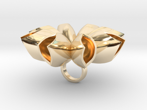 Spritlo big - Bjou Designs in 14k Gold Plated Brass