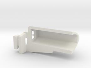 1/14 Peterbilt 379 Light Housing Left in White Natural Versatile Plastic