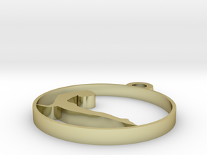 014yoga in 18k Gold Plated Brass
