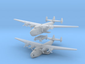 Boeing B-314 Flying Boat Set 1/700 & 1/600 scales in Smooth Fine Detail Plastic: 1:700