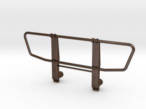 Bull bar Tamiya 1:14 Mercedes SK 1838 / 1850  in Polished Bronze Steel