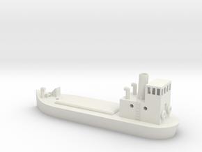 N gauge Puffer in White Natural Versatile Plastic