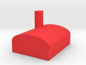 Barn in Red Processed Versatile Plastic