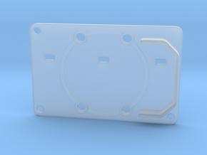 Boba Fett ROTJ Blaster - Rear Stock Greeble in Smooth Fine Detail Plastic