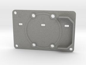 Boba Fett ROTJ Blaster - Rear Stock Greeble in Gray Professional Plastic