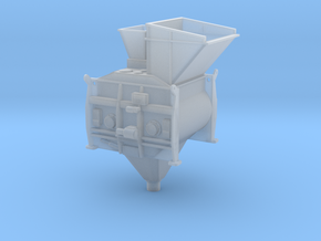 1/50th Twin Mixer Drum Cement Batch Plant in Smooth Fine Detail Plastic