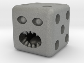 Dice monster test in Gray PA12
