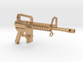 CAR15 SMG in Natural Bronze