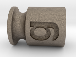Test weight 50 g in Matte Bronzed-Silver Steel