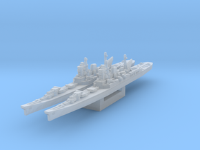 Tone class cruiser (Axis & Allies) in Smooth Fine Detail Plastic