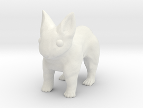 Leopabbit Minuscule Solid in White Natural Versatile Plastic