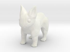 Leopabbit Minuscule Solid in White Natural Versatile Plastic