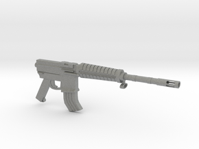 M16A2 SMG in Gray Professional Plastic