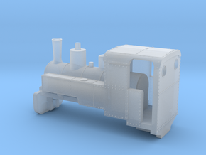 B-1-220-decauville-8ton-060-closed-1a in Smooth Fine Detail Plastic