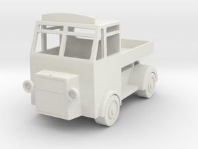 Fleelance design lorry in White Natural Versatile Plastic
