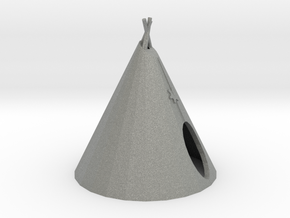HO Scale Teepee in Gray PA12