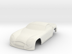 Speed 12 Concept Mini Z in White Natural Versatile Plastic
