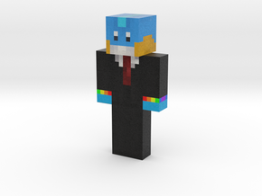 rainbutts | Minecraft toy in Natural Full Color Sandstone