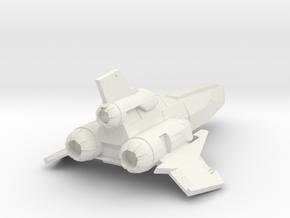 The Viper in White Premium Versatile Plastic