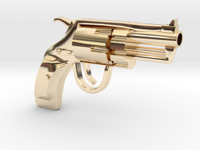 Revolver SUBNOSE in 14K Yellow Gold