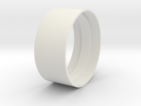 Beadlock Support 02 in White Natural Versatile Plastic