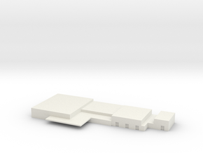 Papa SAC Airbase Office Complex 1:1250 scale in White Natural Versatile Plastic