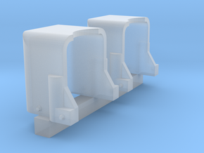 "1/144 Blast Hoods (Smooth) for 5""/38 Mounts in Smoothest Fine Detail Plastic"