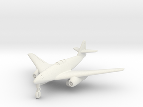 (1:144) Messerschmitt Me 262 HG II in White Natural Versatile Plastic