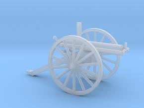 1/72 Scale R J Gatling Battery Gun in Smooth Fine Detail Plastic