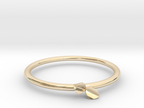 Sprout Ring (Multiple Sizes) in 14K Yellow Gold: 5 / 49