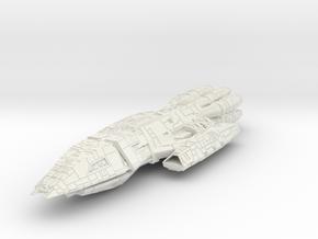 BattleStar Thor Class Cuiser in White Natural Versatile Plastic