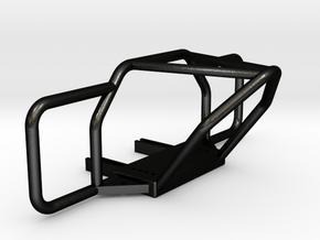 TRX-4, Front Stinger Bumper, Full Width in Matte Black Steel