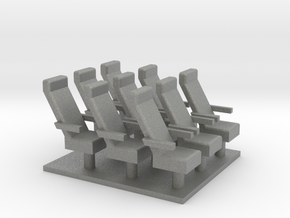 Caboose chairs X9 in Gray PA12