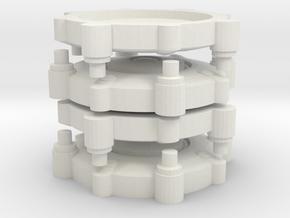 Legion Landmine in White Natural Versatile Plastic