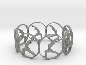 yoga bracelet in Gray Professional Plastic