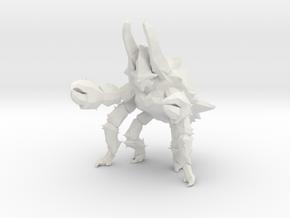 Pacific Rim Onibaba Kaiju Monster Miniature in White Natural Versatile Plastic